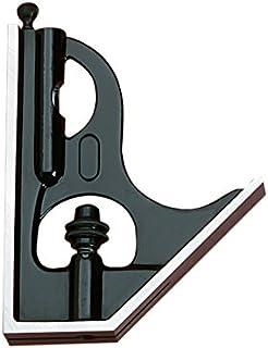 Starrett H11-1224 铸铁方形头适用于组合方形、组合套装和斜角伸缩器,黑色褶皱表面