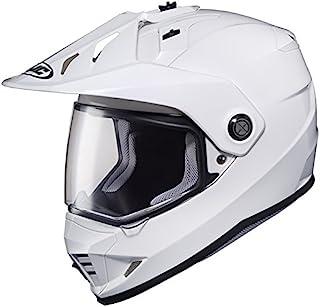 HJC(HJC) 摩托车头盔 全罩式 白色 (尺寸:L) DS-X1 SOLID(实心) HJH133 HJH133