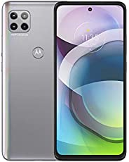 Motorola 摩托罗拉 Moto G 5G | 解锁 | 仅限国际 GSM | 6/128GB | MP 相机 | 2020 | 磨砂银色,166.1 x 76.1 x 9.9 毫米