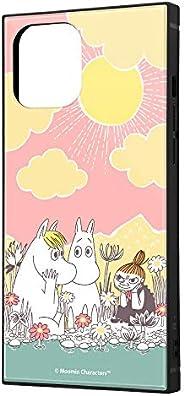 iPhone 12 Pro Max 姆明/耐冲击混合手机壳 手机套 KAKU [ 带挂绳孔 ] 方形 轻便 漫画_1