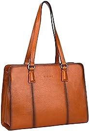 banuce 手提袋女式皮革手提包手提包百搭女式单肩包简单钱包