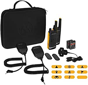 Motorola Talkabout T82 Extreme PMR446 双向对讲机B8P00810YDZMAG T82 Extreme RSM (Remote Speaker Microphone) 黄色/黑色