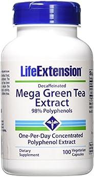 Life Extension Mega 茶葉萃取物 98 個多酚,100 個素食帽 -Decaf 2 200.00
