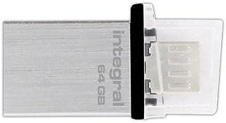 integral Micro FUSION 8GB on-the-go USB 闪存驱动器