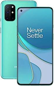 "OnePlus 8T Aquamarine Green | 6.55"" 120Hz FHD+ 流体显示屏 | 8GB RAM + 128GB 内存 | 四倍相机 | 65W Warp Charge | 双SIM"