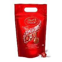 Lindt 瑞士莲 Lindor 牛奶巧克力球(约80球),1kg