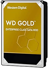 Western Digital Gold 企业级内部硬盘驱动器 7200 RPM级 SATA 6Gb/s 256 MB高速缓存 3.5英寸 WD102KRYZ 10TB