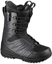 Salomon 萨洛蒙 滑雪靴 男士 SYNAPSE 2020-21年款 L41093200 Black/Asphalt/Black 25.0~29.0cm