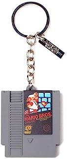 任天堂 3D 橡胶吊坠钥匙链,钥匙圈,10 厘米,灰色