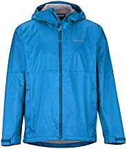 Marmot 土拨鼠 PreCip Eco Plus 男士夹克 硬壳雨衣 防风防水 透气