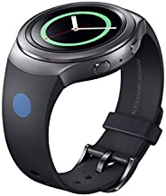 Samsung Smartwatch Replacement Band for Samsung Gear S2 - Retail Packaging - Black
