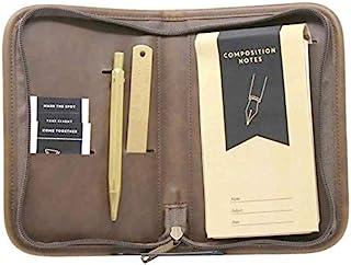 Origaudio Somerset 文具套件 - 包括笔记本、书签、纸飞机、金笔和纸夹 - 非常适合旅行和商务使用