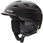 Smith 成人 Vantage MIPS 滑雪头盔 - 哑光黑 - E006759KS