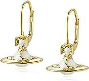 [维维安] 黄铜 ISABELITTA 耳环 62020111-R340 YG [平行进口商品]