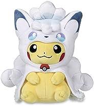 Pokemon 精灵宝可梦 Poke 毛绒玩具 Alolan Vulpix 皮卡丘