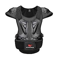 WOSAWE 成人摩托車護甲 ATV 防護背心 Dirtbike 胸背保護罩