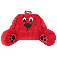 "Sweet Seats 身体垫,毛绒人物枕头,粉色,14 x 26 x 16 英寸各种风格 Clifford 14"" x 26"" x 16"" 红色"