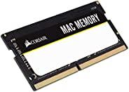 Corsair Apple 认证 4GB (1x4GB) DDR3 1333 MHz (PC3 10666) 笔记本电脑内存条 (CMSA4GX3M1A1333C9)