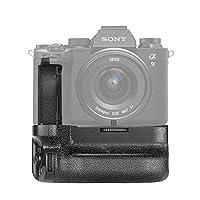 Neewer 垂直电池手柄兼容索尼 A9II A7IV A7RIV 相机,索尼VG-C4EM的替换,仅适用于 NP-FZ100 电池(不含电池)
