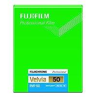 Fujifilm 双面胶片Fujichrome Velvia 50 4x5 色 20 张