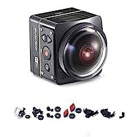 Kodak SP360 4 K Explorer PIXPRO 運動攝像機 黑色