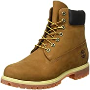 Timberland 男式 6英寸 Premium 防水靴子