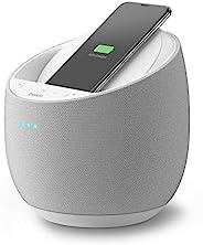 Belkin SoundForm Elite Hi-Fi 智能音箱 + 无线充电器(Alexa 语音控制蓝牙音箱)Devialet 声音技术(白色)
