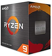 AMD Ryzen 9 5950X 16 核,32 線程解鎖臺式處理器,無冷卻器