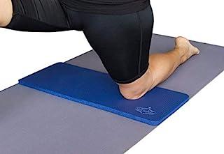 SukhaMat 瑜伽护膝垫 - 美国*好的锻炼膝 - 消除瑜伽或锻炼期间的* - 额外的衬垫和支撑膝盖、手腕、肘部 - 补充您的瑜伽垫