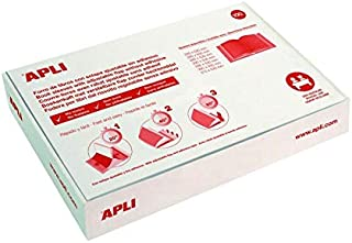 Apli 16907 – 带100个插入式外壳,自粘,PVC,285 毫米,100件