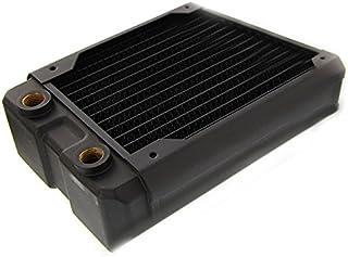 Black Ice Nemesis 120GTX Duo Xtreme Profile Radiator - 黑色碳纖維