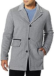 Calvin Klein 男式 Calvin Klein 羊绒混纺羊毛外套