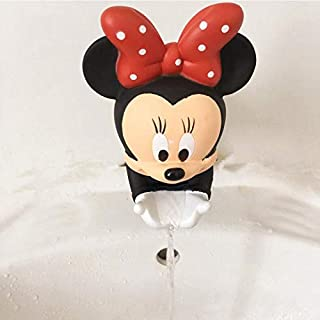 S&P Market 水龙头延长器 儿童节水延长工具 帮助儿童洗手 米奇红色