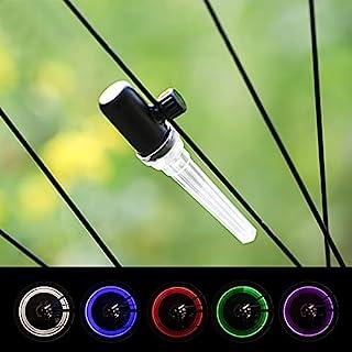 LEADBIKE 自行车辐条灯 智能传感器自行车轮灯 3 倍高亮度 IP55 防水等级 1 种灯 5 种颜色