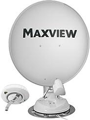 Maxview B2590/85 Crank Up 车顶安装 85 厘米卫星餐具系统,白色