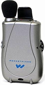 Williams Sound PKT D1-0 PockeTalker Ultra System,200 小时的电池寿命,可调节音调和音量控制,可容纳各种耳机和耳机选项