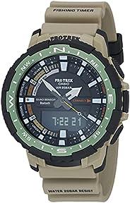 Casio 卡西欧 男式 Pro Trek 石英运动手表树脂表带