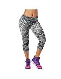 Zumba Fitness 女士 Dazzlin' Perfect Capri 打底裤