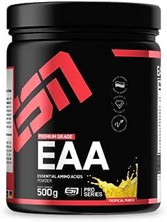 ESN EAA 粉末-500 克-热带冲床-包含所有 8 种必需氨基酸(EaaS-必需氨基酸)-素食主义者-即时-每摇 10,000 毫克 EAs-35 份