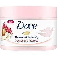 Dove 多芬 Creme-Dusch-Peeling 奶油淋浴磨砂膏,含石榴和乳木果油,令肌膚如絲般柔滑,4瓶裝(4 x 225ml)