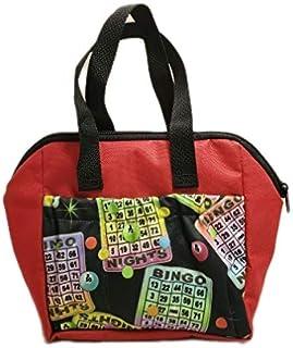 Sii 新款!!! Bingo #1 Dauber 6 口袋手提袋(霓虹红)