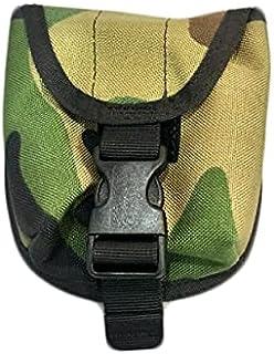 N11 水肺重量口袋 2 千克水肺潜水重量带口袋装饰计数器重量口袋带快速释放扣,适用于水肺潜水、浮潜或多种户外活动(丛林迷彩)