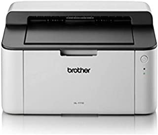 brother 兄弟 HL-1110 黑白激光打印机 - 单功能, USB 2.0, 紧凑, 20PPM, A4打印机, 家用打印机