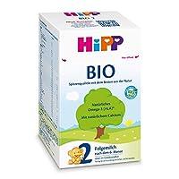 HiPP 喜寶 Bio 嬰兒奶粉 2段(適用于6月以上嬰兒),4盒裝(4 x 600g)