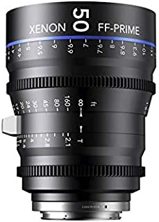 Schneider-Kreuznach 1085549 Cine 镜头,FF-Prime T2.1/50毫米,Sony 索尼 E / m 黑色