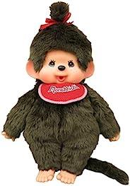 蒙奇奇 高级标准 布偶玩具 L 女孩 棕色