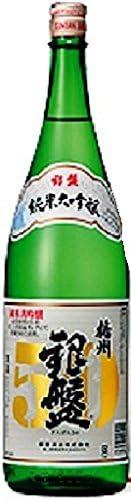 银盘酒造 纯米大吟酿 播州50 无盒装 [ 日本酒 富山县 1800毫升 ]