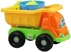 HABIBI 夏日戏水沙滩玩具 沙滩车9件套