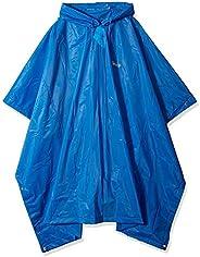 Coleman 雨披 成人防水斗篷,均码,蓝色