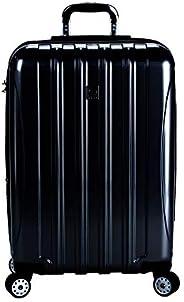 Delsey Helium Aero 25 英寸可擴展旋轉手推車 黑色 均碼